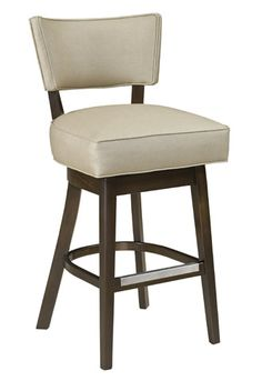 Kitchen Barstools = Style Upholstering #15 with Blackwood Finish and Quarry Upholstery (Not pictured)