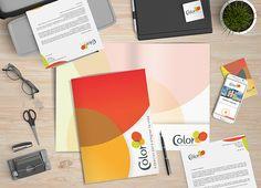 #Branding #IdentidadCorporativa #Papelería #Carpeta
