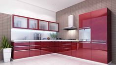 Modular kitchen design becomes a style affirmation of new kitchen design and contemporary design for modern house. Here we give you some best ideas! Best Kitchen Design, Kitchen Room Design, Kitchen Cabinet Design, Interior Design Kitchen, Kitchen Decor, Kitchen Designs, Kitchen Ideas, Kitchen Chairs, L Shaped Kitchen Interior