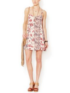 Mixed Print Trapeze Romper by Free People at Gilt