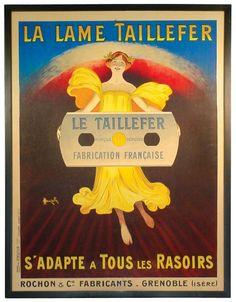 La lame Taillefer s'adapte à tous les poils - 1920's - (Marcellin Auzolle) -