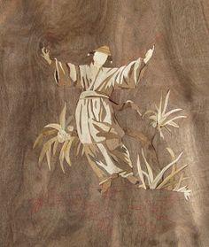 marquetry chinoiserie D.Roentgen