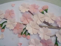 Origami Maniacs: Origami Cherry Blossom (Sakura)