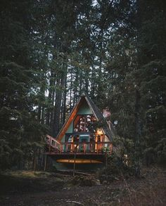 """tentree: """" Backcountry cabins :D 