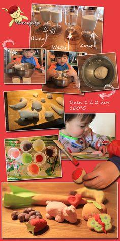 Komijntje Knutselidee: Zoutdeeg! www.komijntje.be/blog/?p=1275