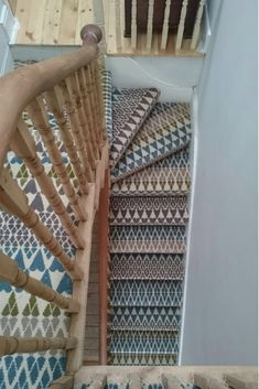 Quirky B Margo Selby Fair Isle Annie Carpet - Installation by Bridge Flooring.