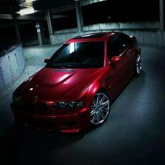 BMW E46 M3 red