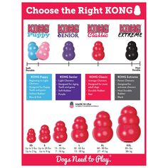 KONG® Classic Dog Toy - Treat Dispensing at PetSmart. Shop all dog interactive toys online Puppies Tips, Baby Puppies, Yorkie Puppies, Chihuahua Dogs, Yorkies, Dog Enrichment, Kong Dog Toys, Puppy Treats, Pet Care
