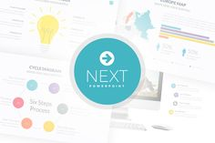Next Powerpoint Template by SlidePro on Creative Market