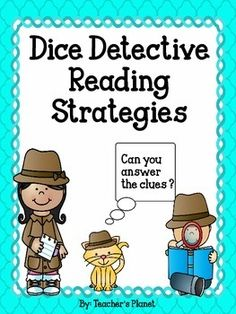 FREE Reading Strategies  Dice Detective!Using dice makes everything more fun! To celebrate my 1,500th follower, I wanted to share this fun way to teach and review key reading strategies. After reading a text, students roll a die that corresponds to a reading strategy.