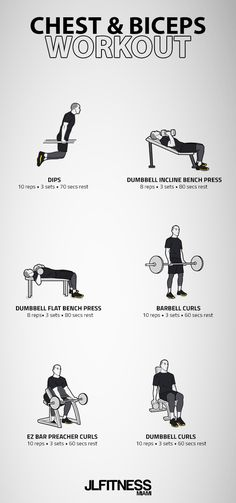 Rep change is between Chest & Biceps Workout- 6 exercises. Rep change is between Chest And Bicep Workout, Bicep Workout Routine, Biceps Workout At Home, Best Bicep Workout, Arm Workout Men, Chest Workout For Men, Bicep And Tricep Workout, Chest Workouts, Gym Workouts