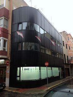 Edificio de oficinas en Sueca (Valencia) realizado por SSE Arquitectura.