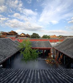 The equally epic courtyard: atelier FCJZ: king's joy restaurant, beijing