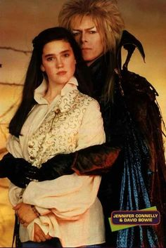 King Jareth, David Bowie and Sarah Williams, Jennifer Connelly The Labyrinth