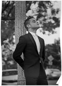 'The one and only Rami Malek ' Poster by Brittney Reed - Mr Robot, Freddie Mercury, Remi Malek, Rami Said Malek, Beautiful Men, Beautiful People, Bebe Love, Theater, My Champion