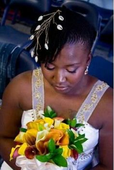 Sassy African American Brides | Khamit kinks. Wedding hairstyle. #dreadstop