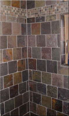6x6 slate tile brick pattern with 1x1 accent.