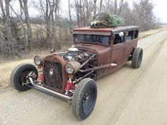 Our 1928 Dodge Brothers ratrod., It has been chopped 4inches . It has a 350 Chevy motor , it has air bags on back. We love going to car shows to show her off.  Nothing special just a lot of fun.