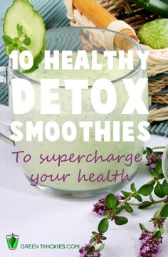 10 healthy detox smoothies