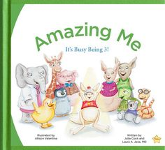 "A great book by Julia Cook & Laura Jana about child development and the early warning signs of autism. ""Amazing Me"" is downloadable for free at the Centers for Disease Control and Prevention website."