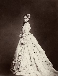 Lovisa, the Crown Princess of Denmark, neé Princess of Sweden & Norway, Early/Mid-1870s