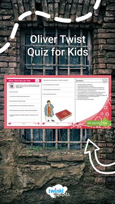 Need a hand helping your child with their English homework? Simply download the questions and see if your child can answer them. Try reading our Charles Dickens Homework Help guide (accessible via the QR code) beforehand as a revision aid. Check your answers using the answer sheet at the end. Follow the link to try this quiz today!