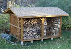 Firewood Wood Shed Plans Need woodworking tips? Try us out at http://woodesigner.net