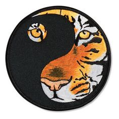 Yin Yang Tiger Patch c0818