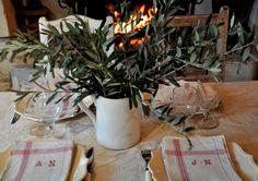 EASY BUT CUTE oliviers ,feu de cheminée