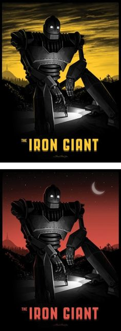The Iron Giant by Mike Mitchell