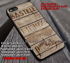 Favorite bands on wood, bastille, Panic at the Disco, arctic monkeys, bastille, case/cover for iPhone 4/4s/5/5c/6/6 /6s/6s  Samsung Galaxy S4/S5/S6/Edge/Edge  NOTE 3/4/5 #music #bst #arc #PATD ii