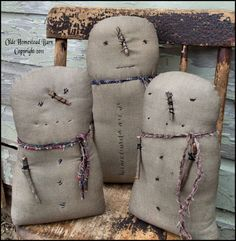Olde Homestead Barn: New 3 Prim Snowmen Pattern