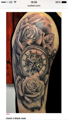 Clock-roses