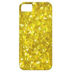 Golden Crystal Mosaic iPhone 5 Case