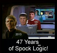 47 years of Spock