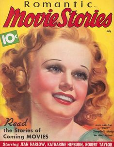 Harlow, who really bleached her hair