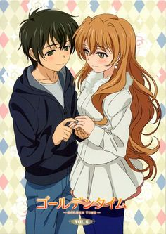 Tags: Anime, J.C. Staff, Golden Time, Tada Banri, Kaga Kouko