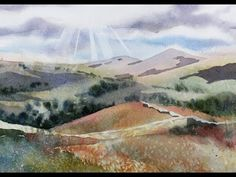 ▶ Painting a Summer Landscape in Watercolor with Susan Avis Murphy, AWS - YouTube