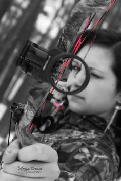 This is a really cool picture, but the arrow is in the bow!!! That is a little dangerous. What is the release slipped?