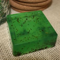 Double Mint Peppermint Spearmint Herb Clean Green by GoodLifeSoaps, $5.00