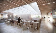 Cạnh tranh Friis & Moltke và WE Architects Win cho Đại học Campus ở Đan Mạch, biếu không của Friis & Moltke + CHÚNG TÔI kiến trúc sư