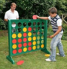 Four In a Line Game - Large Outdoor Version