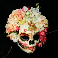 Day of the Dead Mask Dragon Bride