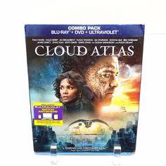 Cloud Atlas Blu Ray DVD Combo Tom Hanks Halle Berry Hugh Grant Susan Sarandon
