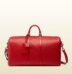 Gucci - bright diamante leather carry-on duffle bag 355639AIZ1G6523 Bag  Closet 0e75fd441b857