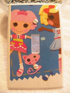 Decorated Light Switch Cover ~ LALALOOPSY - Single Toggle Light Switch Cover ~ Kids Room