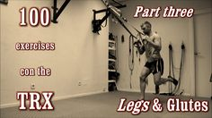 A complete video guide of TRX training! More than 100 exercises! The TRX is one of the most complete training tools. Suspension Workout, Trx Suspension, Suspension Training, Month Workout Challenge, Workout Schedule, Training Motivation, Fitness Motivation, Fun Workouts, At Home Workouts