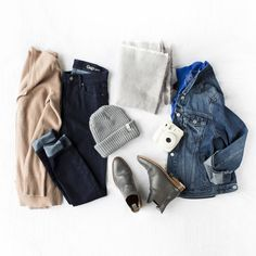 """Blogger Mary Seng of Happily Grey wears some of her favorite Gap denim pieces. """"Denim is approachable, fresh, and iconic,"""" she says. """"It brings about a sense of heritage and tradition that no other fabric does."""" gap.com"""