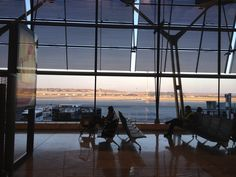 MAD, terminal 4, view