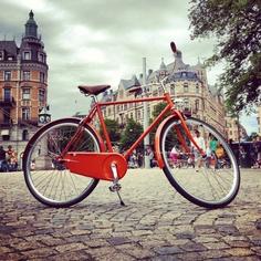 Abici Italian Bicycle   Stoccolma Model